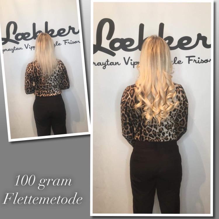 100 gram flette extensions
