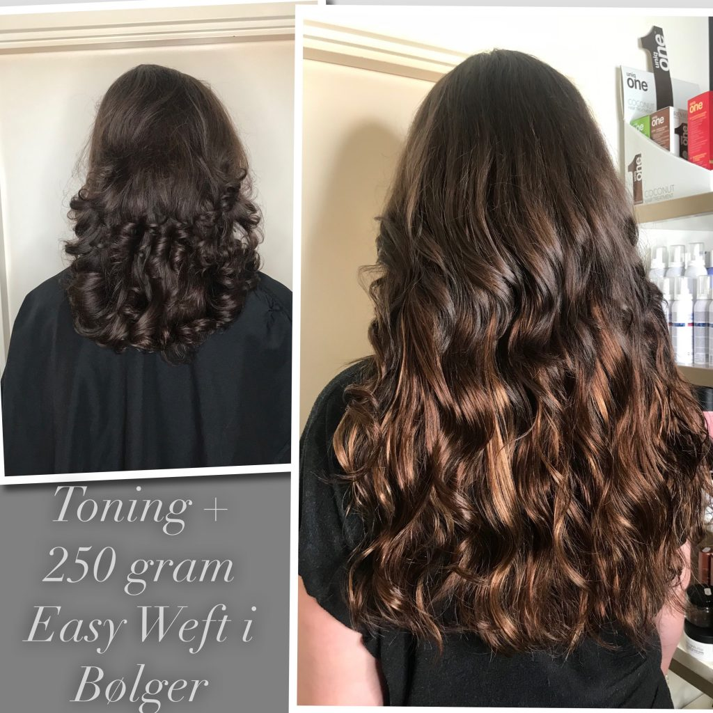 easy weft 250 gram extensions