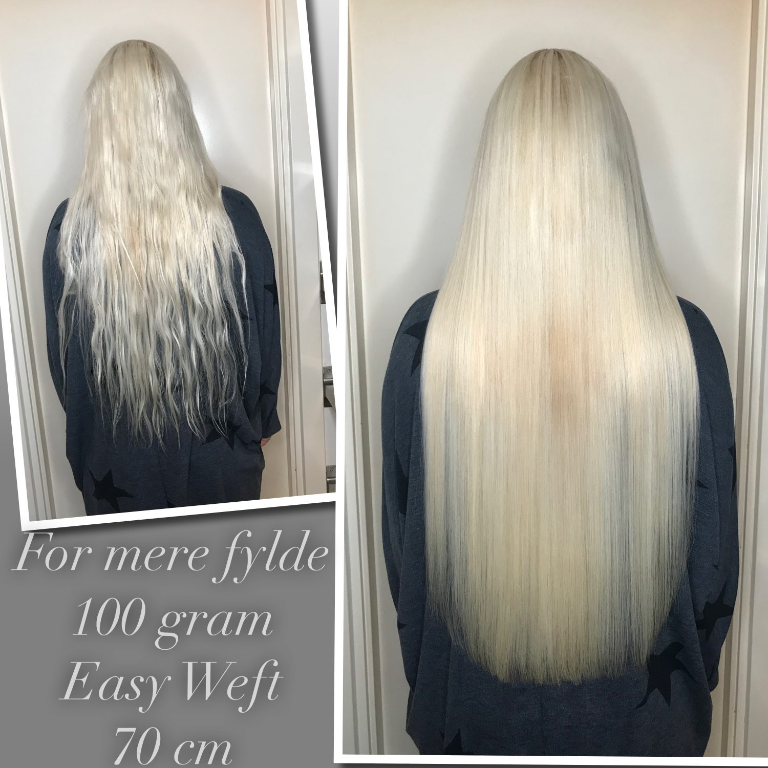 easy weft extensions