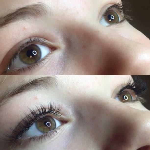 smukke øjenvipper